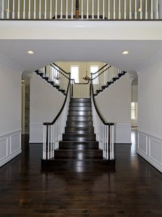 Traditional Staircase Double Island Design, Pictures, Remodel, Decor and Ideas - page 4