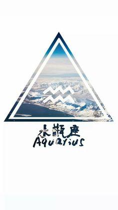 Aquarius ♒ Aquarius Art, Aquarius Constellation Tattoo, Aquarius Tattoo, Zodiac Signs Aquarius, Capricorn And Aquarius, Zodiac Art, Virgo Zodiac, Horoscope, Handy Iphone