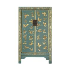 Nine Schools Classic Chinese Blue Butterfly 2 Door Cabinet – Next Day Delivery Nine Schools Classic Chinese Blue Butterfly 2 Door Cabinet from WorldStores: Everything For The Home Chinese Furniture, Oriental Furniture, Asian Furniture, Painted Furniture, Home Furniture, Cabinet Furniture, Furniture Makeover, Chinese Cabinet, Oriental Decor
