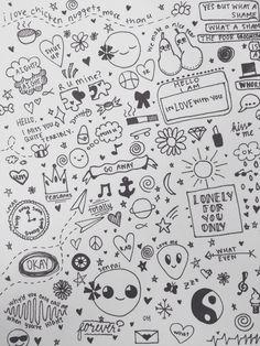 easy doodles note doodles random doodles notebook doodles little doodles