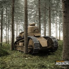 Finnish army Renault FT 17 tank photographed before Winter War in summer During war they didn't see any combat use as tanks, but some were dug into turret down positions and used by as bunkers of sort by Finnish infantry. Rotterdam, Ww2 History, War Thunder, Ww2 Tanks, Armored Vehicles, Armed Forces, Warfare, World War Ii, Military Vehicles