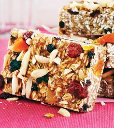 Blueberry Apricot Breakfast Bars - Clean Eating