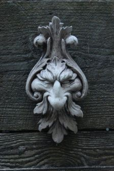 small greenman door knocker - no longer available from Outdoors & Garden - Etsy Home & Living