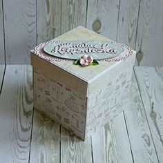 Exploding box - pudełko z życzeniami na chrzest. Decorative Boxes, Home Decor, Decoration Home, Room Decor, Home Interior Design, Decorative Storage Boxes, Home Decoration, Interior Design