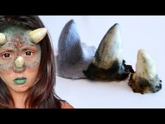 DIY Horn Prosthetics with Liquid Latex - ShelingBeauty - YouTube