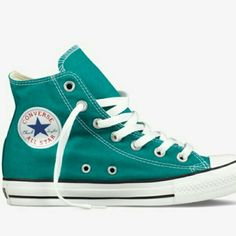 4bb402fc61e3 Teal converse - chucks are my all time favorite shoe!