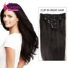 Aliexpress.com : Buy Clip In Human Hair Extensions 8 Pcs 100 160g Clip In Hair Extensions 16 26 In Brazilian Straight Human Hair Clip In Extensions from Reliable clip wig suppliers on Yestar Hair Store