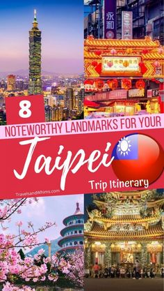Taipei - a bustling metropolis with ultra modern skyscrapers, tons of temples and religious sites, plus several shopping options and thriving open markets. Adventure Quotes Wanderlust, Wanderlust Travel, Asia Travel, Adventure Travel, Modern Skyscrapers, Modern Buildings, Travel Destinations, Travel Tips, Travel Articles