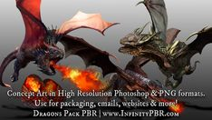 Elevate your workflow with the RPG Character Pack - Dragon & Male / Female Human asset from Infinity PBR. Find this & other Humanoids options on the Unity Asset Store. 3d Design Software, Fantasy Concept Art, Unity, Dragons, 3 D, Character Design, Invitation, Creatures, Gems