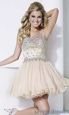 Short Hannah S Prom Dress at SimplyDresses.com