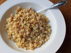 Goat Cheese Apple Walnut Pasta  Suspect Supper Turns into Super Side Dish