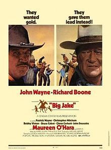 """Free for you to view on YouTube: John Wayne in Big Jake, director George Sherman's 1971 western featuring The Duke as gunfighter-turned-rancher Jacob """"Big Jake"""" McCandles."""