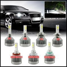 Car Lights Sporting Dongzhen Car Led Bulbs All-in-one Conversion Kit H11 H4 H7 H1 H13 H3 9006 9005 9007 880 881 Automobile Headlight Auto Parts Removing Obstruction