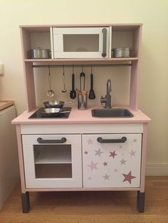 Cocinita de ikea tuneada!!! Kitchen kids duktig