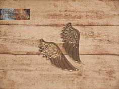 Charm Charms Silver Silber Feder Flügel Feather Wing http://www.elegance-of-crafting.com/