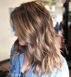 Smoky blonde hair. Dipper darker blondes for winter. #balayagedandpainted #denverhairsalon #denverhaircolor #thebusinessofbalayage #balayage #smokyblonde #denverhairstylist #balayageartists #303hair, #modernsalon #americansalon #behindthechair...