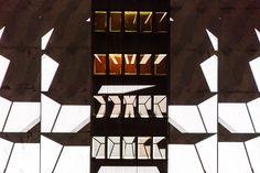 """Genius Loci Weimar 2015 // Jakobsplan // Weltraumgrafik """"Hommage/Collage"""" // © Henry Sowinski"""