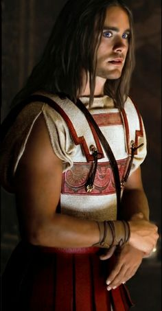 Jared as a very sexy Hephaestion!