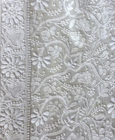 Have a look at our new gorgeous chikankari duppattas now available on order. Each one is carefully hand embroidered by the women of Jais Vi...