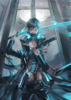 Yukio & Rin Okumura - Blue Exorcist/Ao no Exorcist Ao No Exorcist, Blue Exorcist Anime, Rin Okumura, Manga Anime, Anime Art, Blue Flames, Fan Art, Cosplay, Black Butler