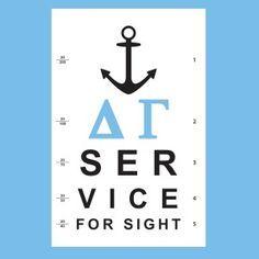 Delta Gamma Service for Sight