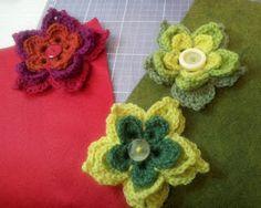 free, LOTS of flower crochet patterns