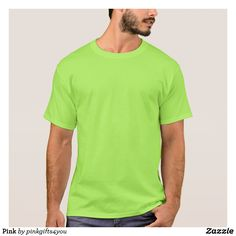 Lime Men's Basic Unisex Adult T-Shirt