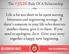 The #3526 Of A Relationship