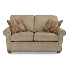 Flexsteel 5110-20 Christine Fabric Loveseat available at Hickory Park Furniture Galleries