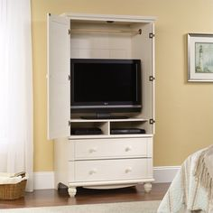 Bedroom Armoire With Tv Storage