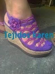 Resultado de imagen para zapatos tejidos
