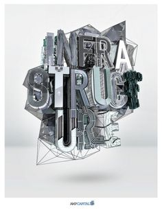 Perfect Example of 3D Typography