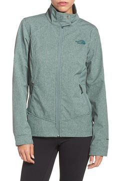 The North Face The North Face 'Calentito 2' Soft Shell Jacket available at #Nordstrom - medium green