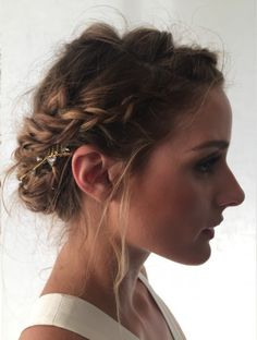 Bookmark this heat-friendly hairstyle for your next event.