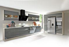 Amerikanischer Kühlschrank Einbauküche : Die 43 besten bilder von küchen home kitchens decorating kitchen