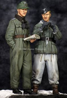 WW2 Kharkov SS officers from Alpine. Now available! Click on the pic for more!
