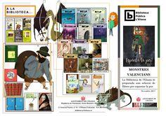 Guia de lectura Per Tots Sants,  monstres valencians!!!