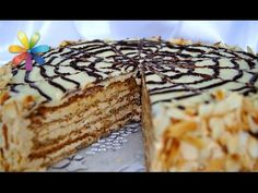 Неделя знаменитых тортов со всего мира: торт Эстерхази! – Все буде добре. Выпуск 726 от 22.12.15 - YouTube Hungarian Cake, Tiramisu, Sweets, Ethnic Recipes, Food, Youtube, Pies, Kuchen, Essen