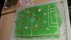 Fußballfans Kuchen