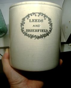It stands 6.5 inches high,6.2 inches diameter and probably dates c1890.   sold £35 + postage