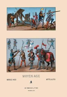 Arms and Artillery of Fifteenth Century France 24x36 Giclee
