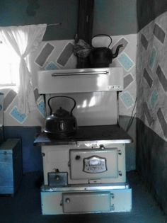 Old stove (Basotho village)