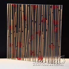 Poppy,Deco Nature,DECO PANEL,DECO DECO,resin panel,architectural panel, translucent resin panel, decorative panel, laminated resin panel,