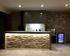 Sector quincho Bar Counter, Barbacoa, House Goals, Bars For Home, Man Cave, Pergola, Bbq, New Homes, Table