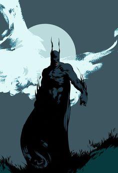 xombiedirge:  Batman & SpawnbyMikael Bourgouin
