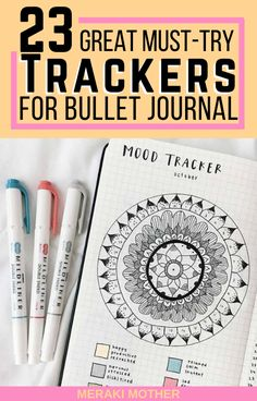 23 awesome ideas for bullet journal habit trackers you will actually use! Find minimalist and creative layouts to improve your sleep, mental health, self care, finances and more!