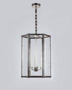 "Marlowe Hexagonal Lantern (hl2892.26) | Remains.com Remains Lighting 18.5""D x 33.5""H"