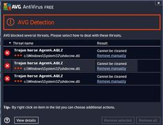 AVG Possibly Hit By False Trojan Horse Agent4.AQLZ Alarm