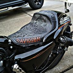 indianapolis, IN 46203 Car Interior Design, Car Interior Accessories, Motorcycle Seats, Bike Seat, Leather Tooling, Leather Wallet, Car Interior Upholstery, Rat Bikes, Indian Scout