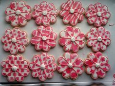 Flour Box Bakery — flower sugar cookies